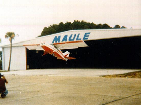 Maule Aircraft Factory, Aircraft clears the hanger